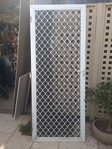 White security screen door Findon Charles Sturt Area Preview