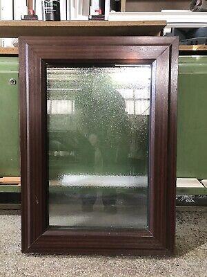 Second Hand UPVC Window, Woodgrain 625mm By 865mm (W4961)