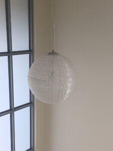 Modern round pendant light