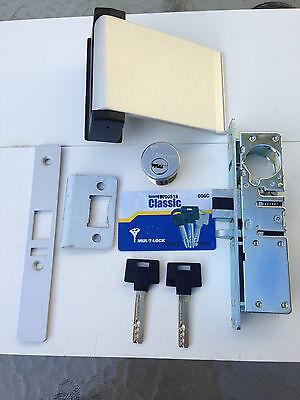 Adams Rite Type Storefront Door Lock With High Security Multilock Cylinders