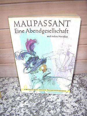 Eine Abendgesellschaft und andere Novellen, von Maupass
