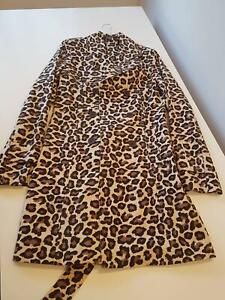 Women's Size 8 Leopard Print Coat Wollongong Wollongong Area Preview