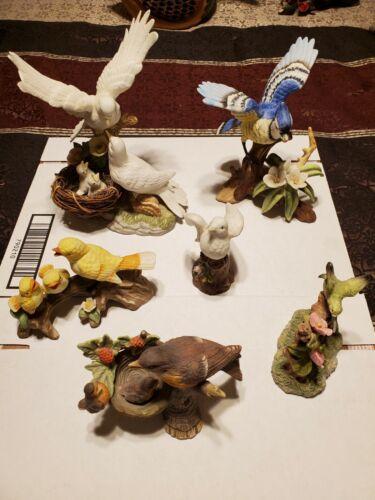 Vintage Porcelain Birds - Lot of 6