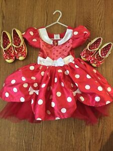 Disney Store Minnie Mouse Costume - Size 4
