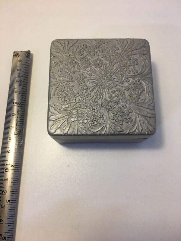 Lov Lor Cheramy Aluminum Face Powder Box Made In France