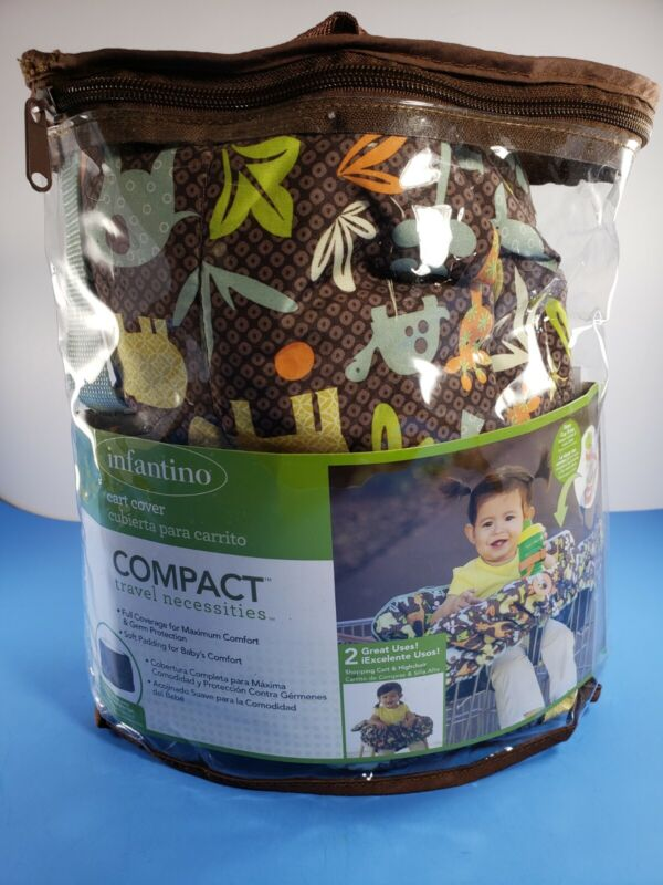 Infantino Compact Cart Cover for Baby Highchair or Shopping Cart Straps Unisex