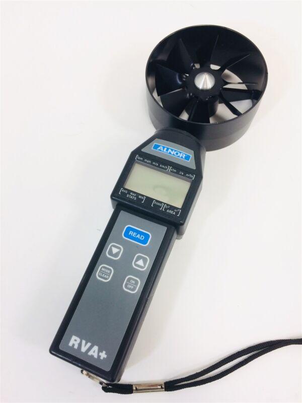 TSI Alnor RVA+ Rotating Vane Anemometer Air Wind Speed Velocity