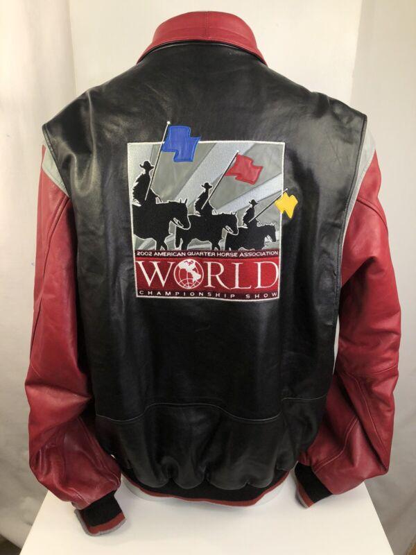 AQHA American Quarterhorse Ass World Championship Show 2002 Top Ten XXL Coat