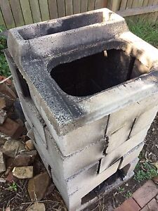 Garden incinerator / Chimney  for burning twigs branches etc West Ryde Ryde Area Preview
