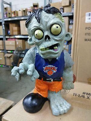 New York Knicks Zombie in Blue Shirt Orange Pants Bobblehead Halloween ()
