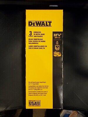 Dw3986c 32-78 X 1418 Tpi Band Saw Blade Portable 3pack Dewalt