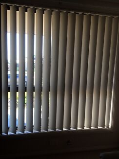 2 sets of vertical blinds Oxley Vale Tamworth City Preview