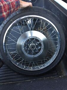 Spitfire 11 and 11r tire Honda CB550 front rim