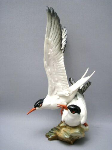 Hutschenreuther Figure Group As Seagulls Seeschwalben (19-0119)