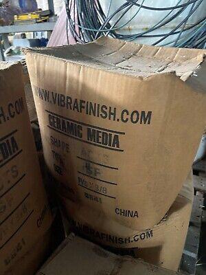 50lb Boxes Vibratory Tumbler Media Brand New