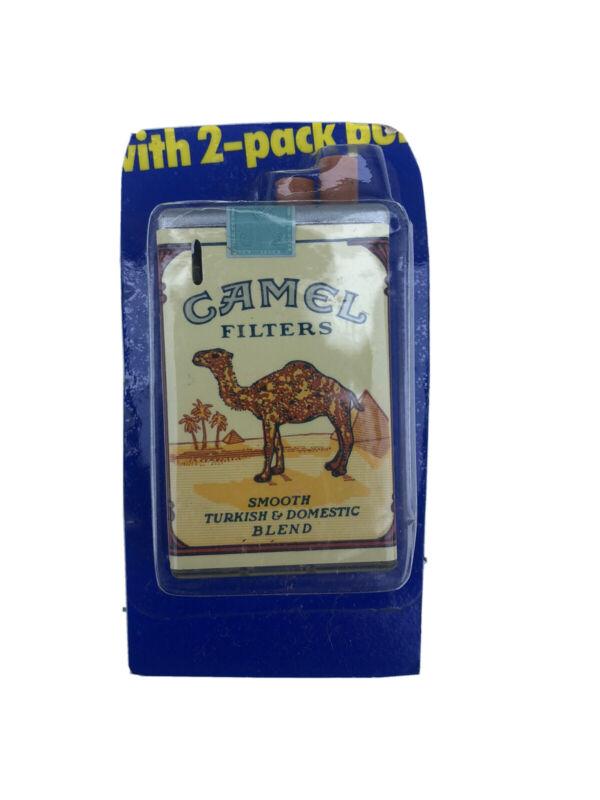 Vintage Promo Camel Filters Hard Pack Click Lighter In Original Packaging