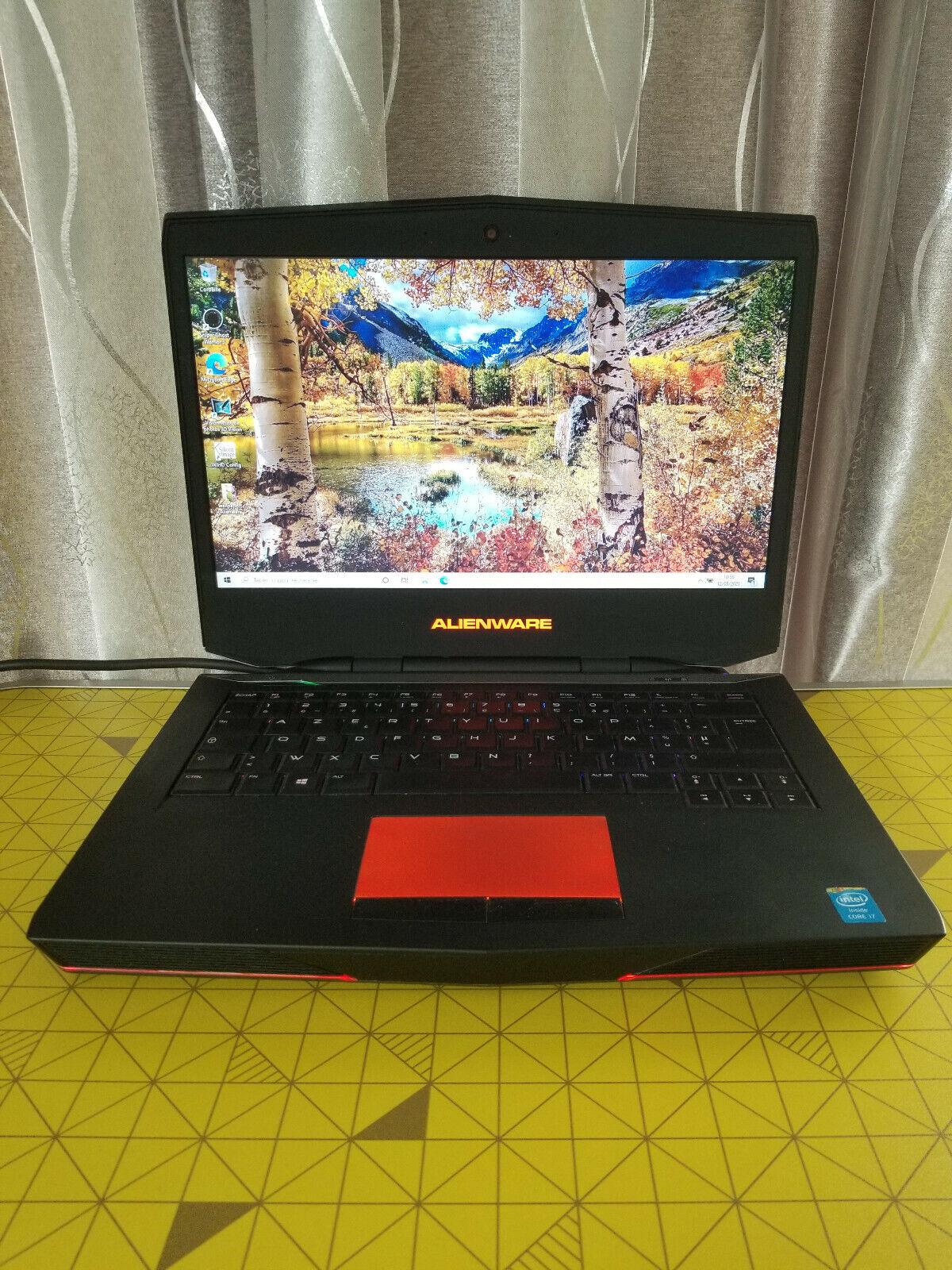 Alienware 14 fhd - intel core i7-4700mq 2.4 ghz - ram 16go, gtx 750m  win10