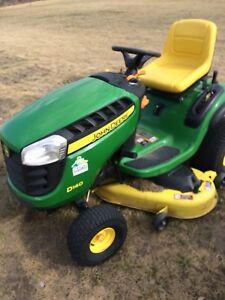 JD D140 mower