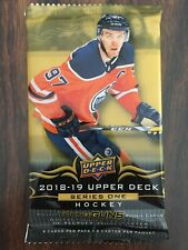 2018-19 NHL Upper Deck Series 1 Hockey Booster Pack 1 Pack | 8 cards per pack