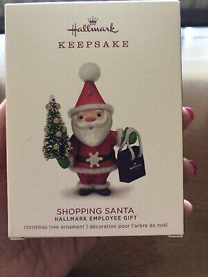 hallmark keepsake ornaments 2018 Limited Edition Shopping Santa