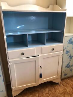Retro vintage kitchen buffet dresser