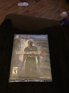 Uncharted 4 (BRAND NEW IN PLASTIC)