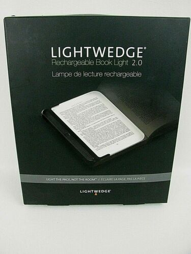 LightWedge Rechargeable Book Light 2.0