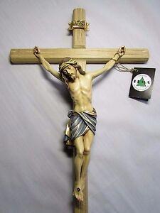 Large Wood Crucifix Ebay