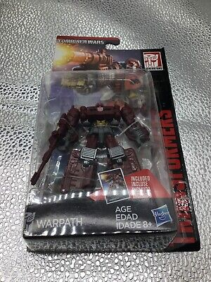 Transformers Generations Combiner Wars Warpath Legends Class  NEW  US