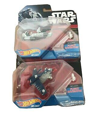 Hot Wheels Star Wars Starship Snow Speeder & Republic Gunship