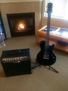 LIKE NEW LINE 6 AMP AND EPIPHONE GUITAR
