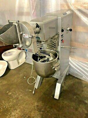 Univex Srm30 30 Qt Dough Mixer Single Phase Floor Model Pizza Restaurant