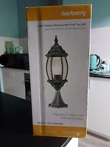 Barberry outdoor  lantern post top light Meadow Springs Mandurah Area Preview