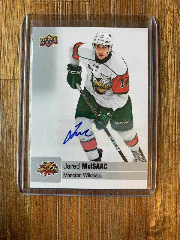 2019-20 Upper Deck Chl #41 Jared Mcisaac Autograph