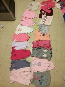 97 pieces of 3 month girl clothes