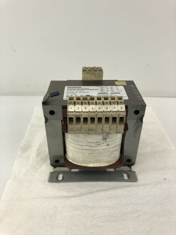 Siemens 4AM4842-8ED40-0FA0 Transformer 0.5/2.0kVA