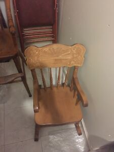 Mennonite Child's Rocking Chair