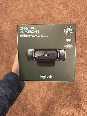 Logitech C920s Pro HD 1080p Webcam with Privacy Shutter NEW SAME DAY SHIPPING