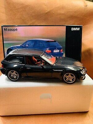 BMW M Z3 Coupe UT 1:18 Zinc Diecast MODEL Dealer Edition Black 80 43 9 422 193