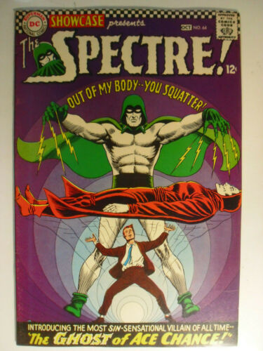 Showcase #64, Spectre, Ghost of Ace Chance, Very Fine-, 7.5, White Pages
