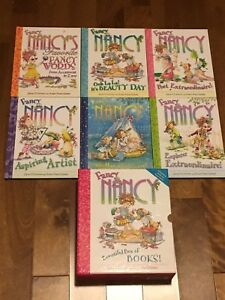6 Boxed Fancy Nancy Hardcover Books