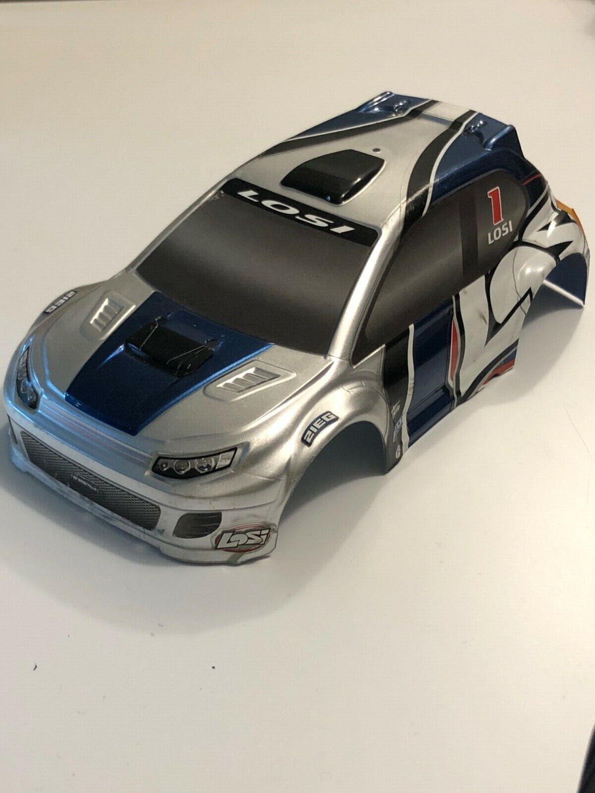 Team Losi 1/24 Micro Rally Car Body Race Drift  - $41.00