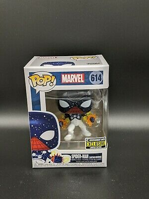 Funko Pop Marvel Spider-Man Captain Universe Vinyl Figure EE Exclusive