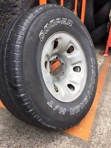 """NISSAN PATROL 16"""" GENUINE STEEL WHEELS AND TYRES Carramar Fairfield Area Preview"""