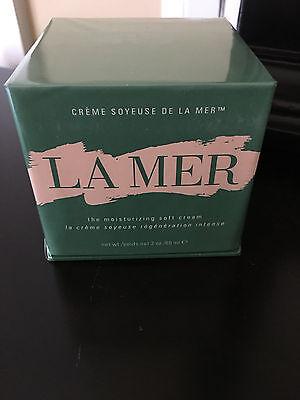 LA MER Creme Soyeuse de LA MER The Moisturizing Soft Cream 2 oz NEW SEALED