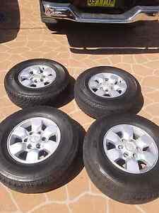 Toyota Hilux Sr5 wheels/tyres bridgestone duelers Roselands Canterbury Area Preview