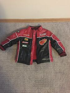 Cars fall jacket baby boy size 12 months located in Cumberland