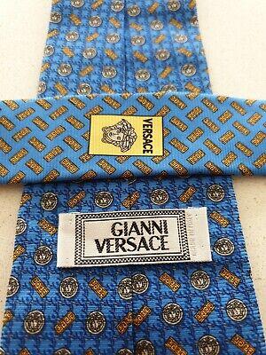 Gianni Versace Silk Tie Medusa