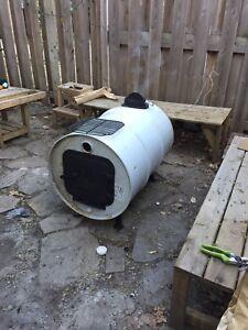Patio / cabin heater chimney