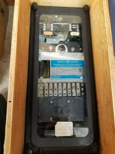 General Electric 12STD15C5A Differential Relay Transformer Protection Relay STD